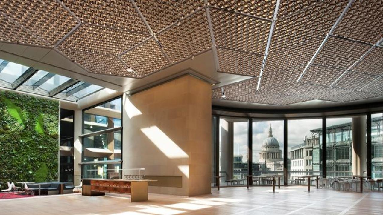 how-does-a-ceiling-help-create-the-worlds-most-sustainable-office-building
